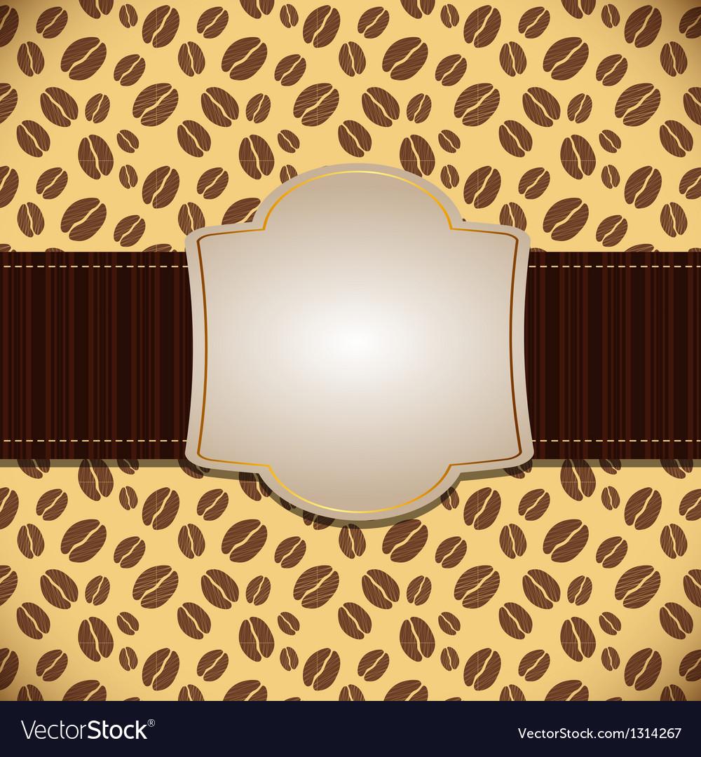 Coffee house menu template vector