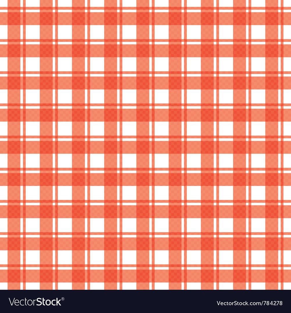 Tablecloth vector