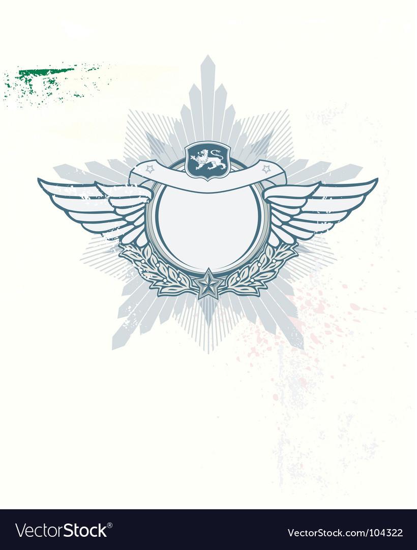 Insignia vector