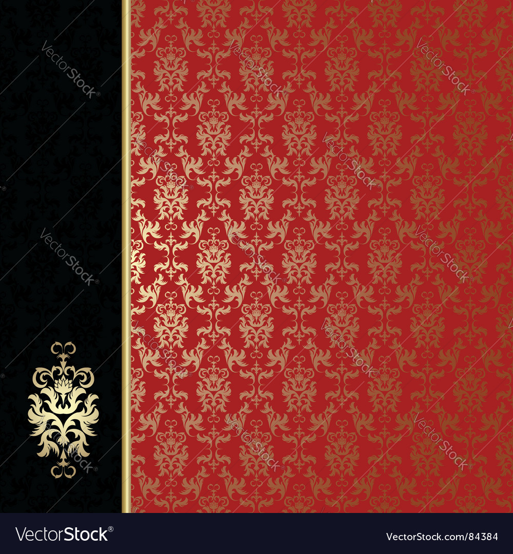 Regal background vector