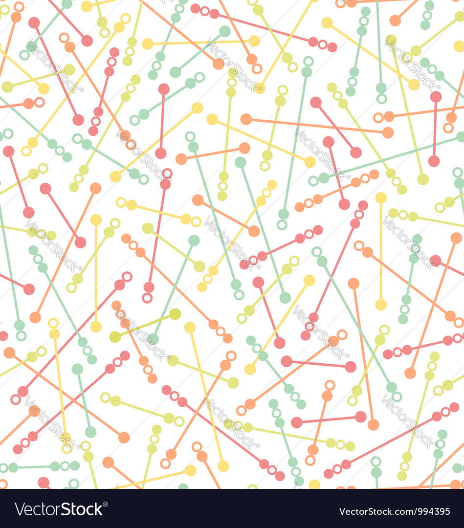 Color shapes pattern vector