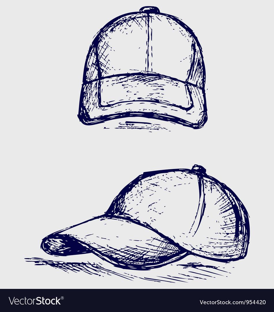 Baseball cap vector