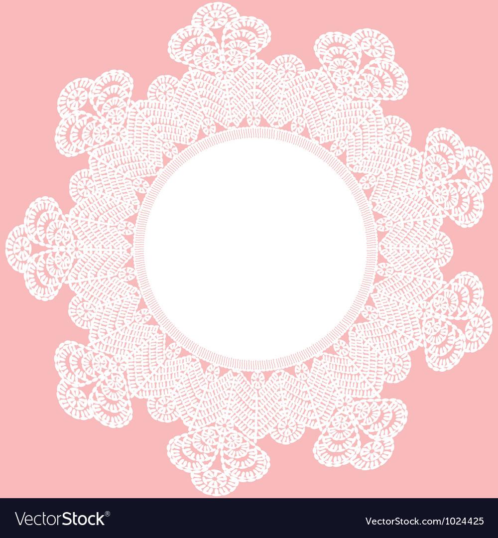 Crochet Patterns Vector : Round crochet doily vector by Prikhnenko - Image #1024425 ...