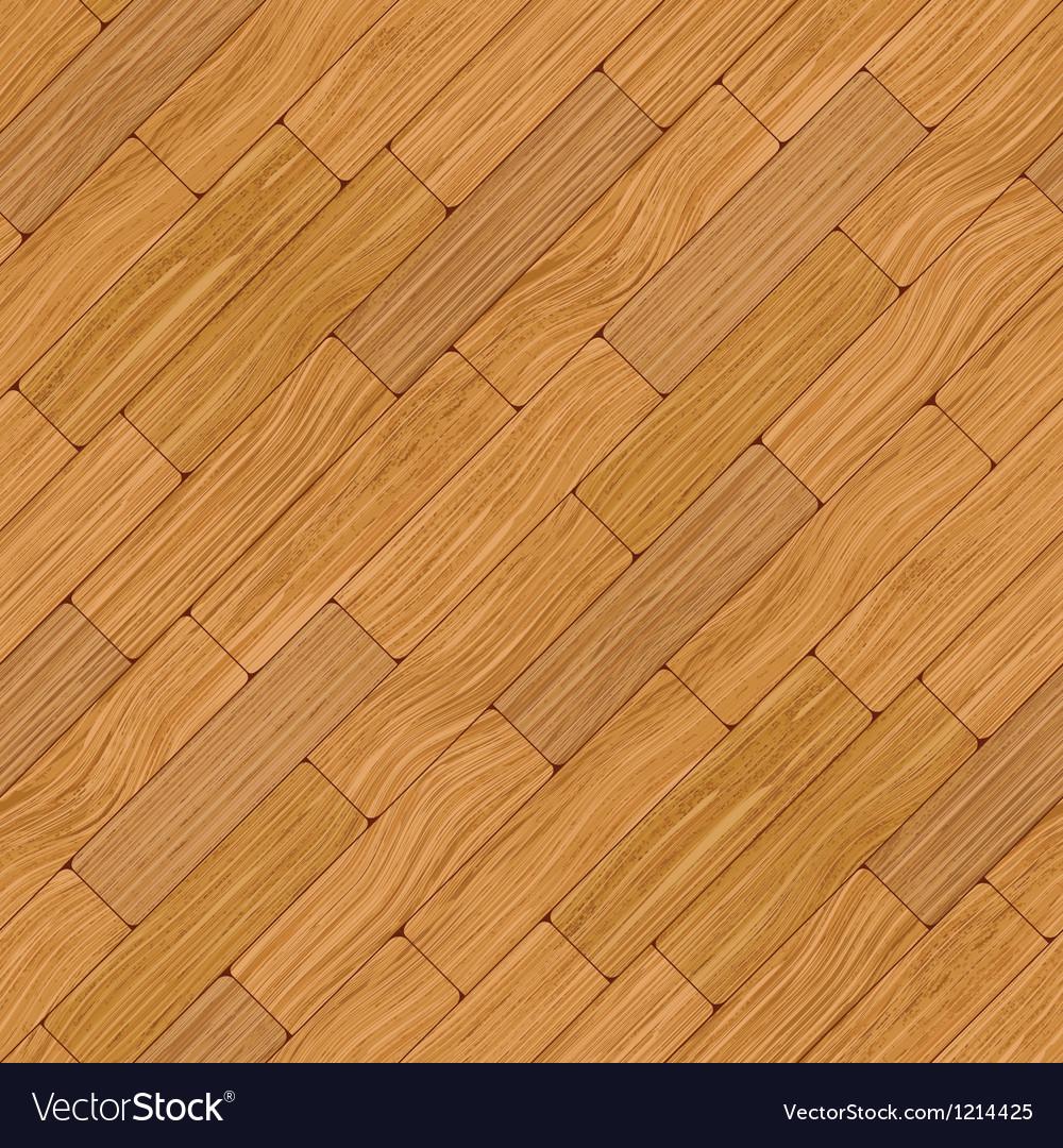 Wooden parquet vector