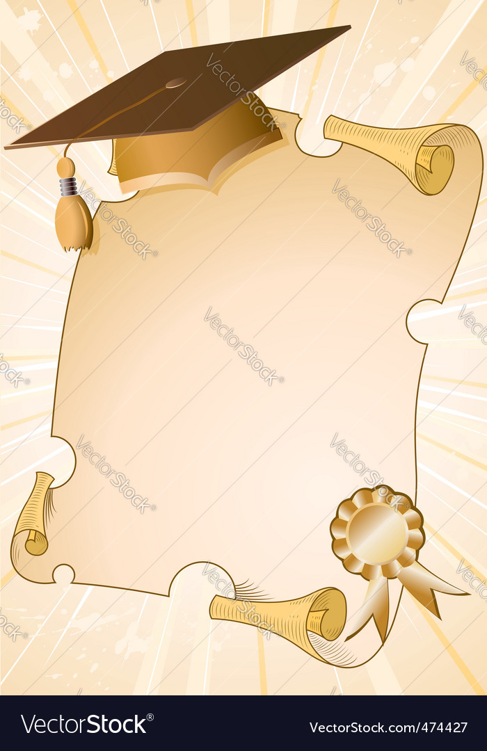 Graduation Background Vector By Talex Image 474427