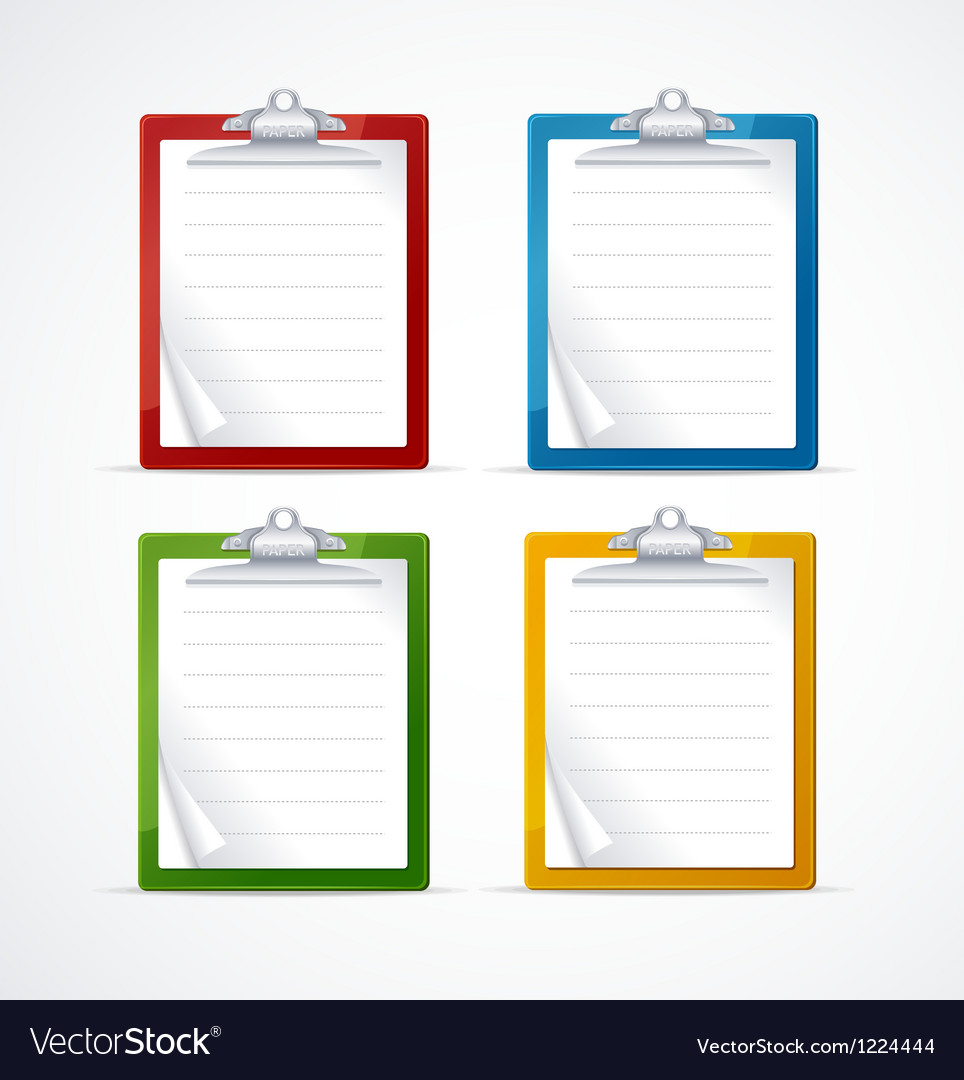 Check list icon set vector