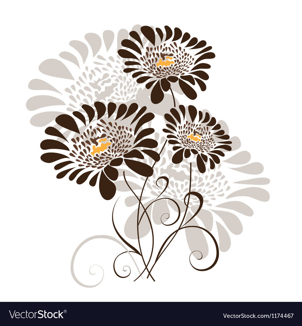 Free floral design vector
