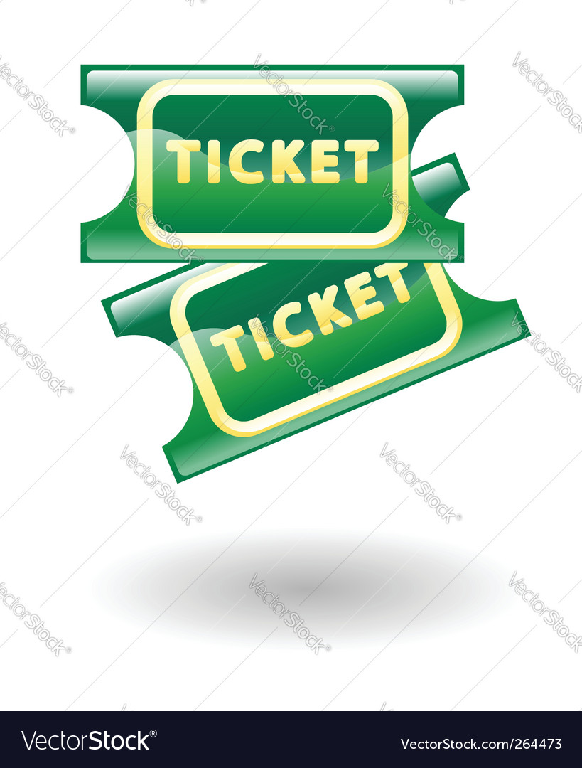 Tickets illustration vector
