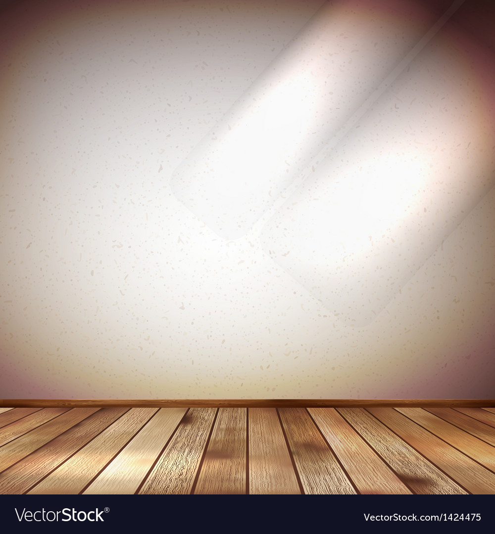 Light wall with a spot illumination eps 10 vector