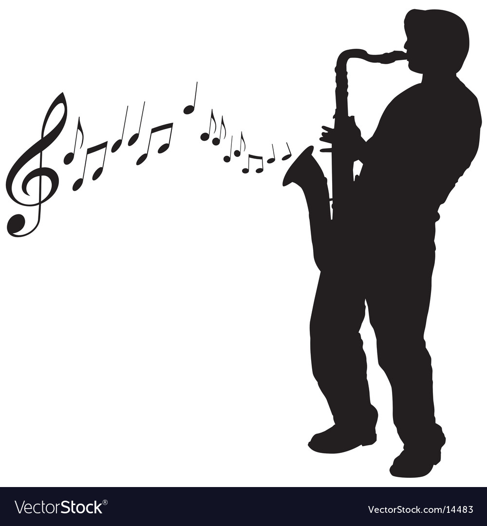 Sax guy vector
