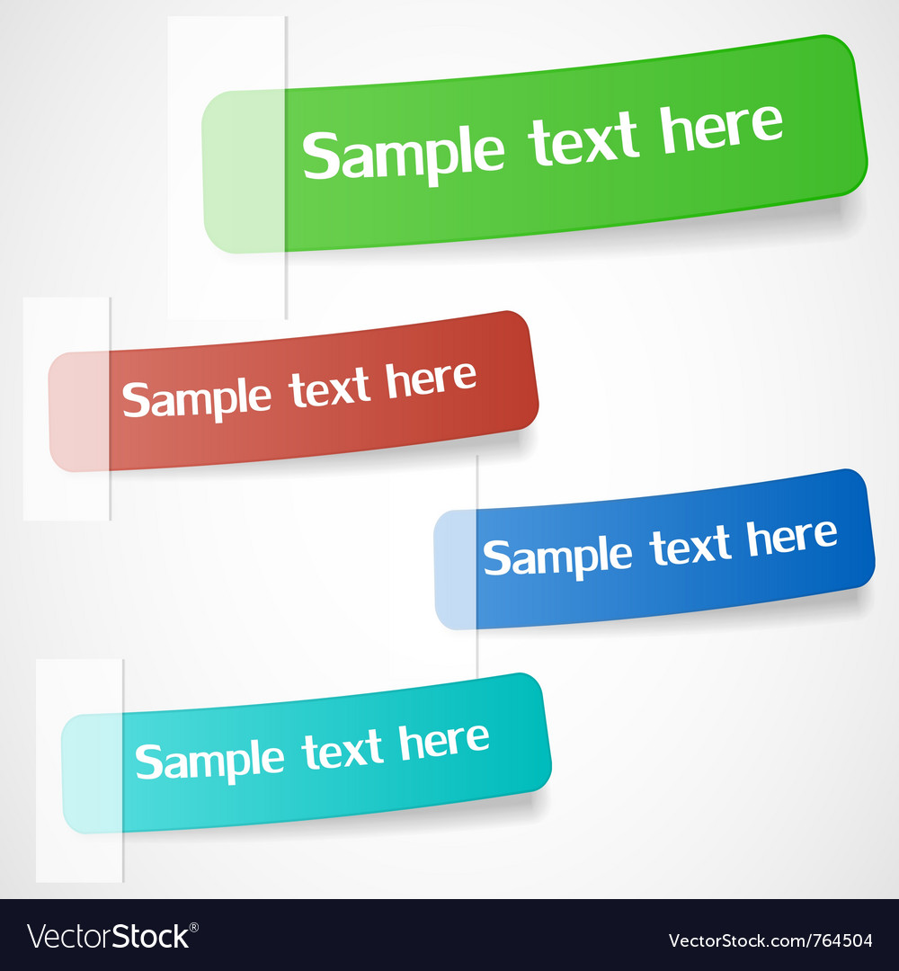 Stickers vector