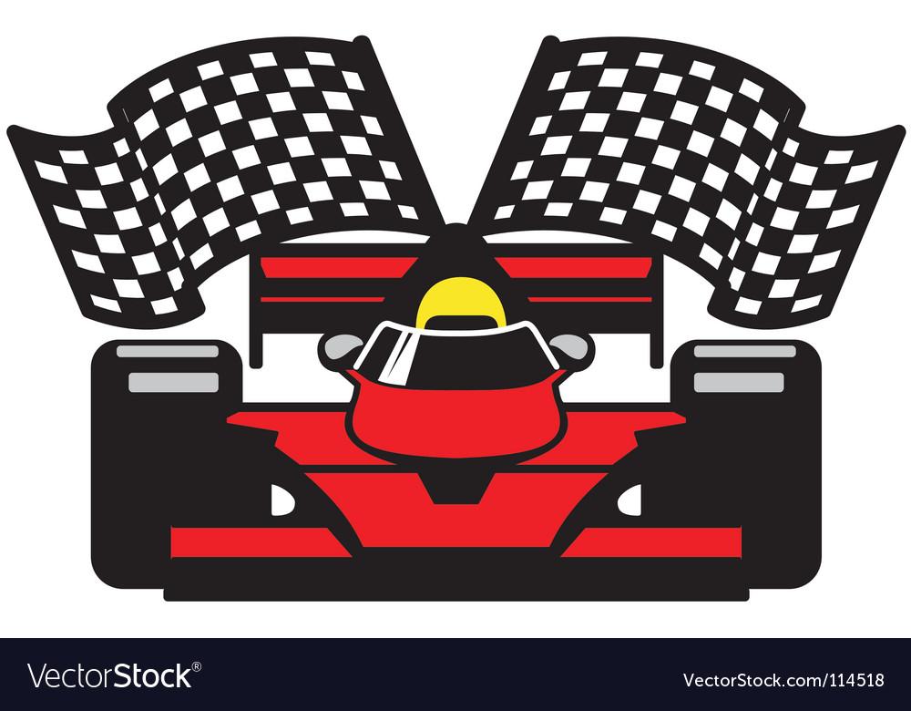 Racing car vector  Race Car Vector Art