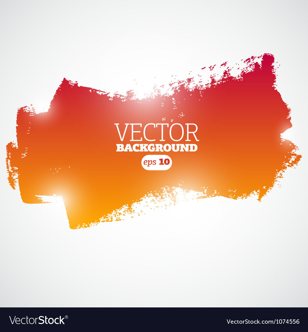 Grunge colored banner ready for your text vector