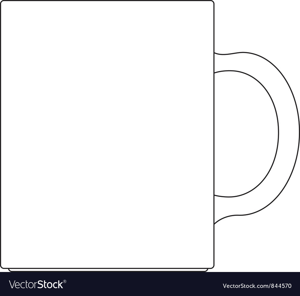 Coffee Cup Template Coffee cup vector