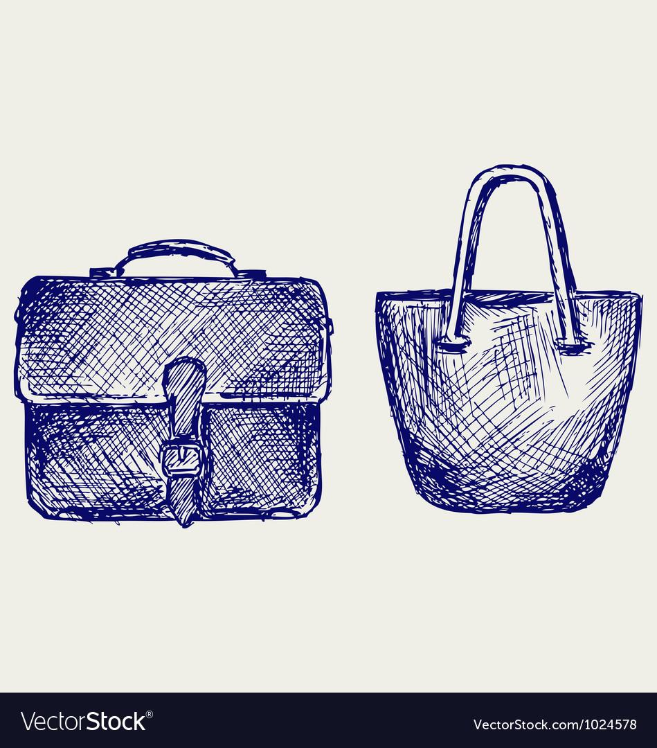 Bags vector