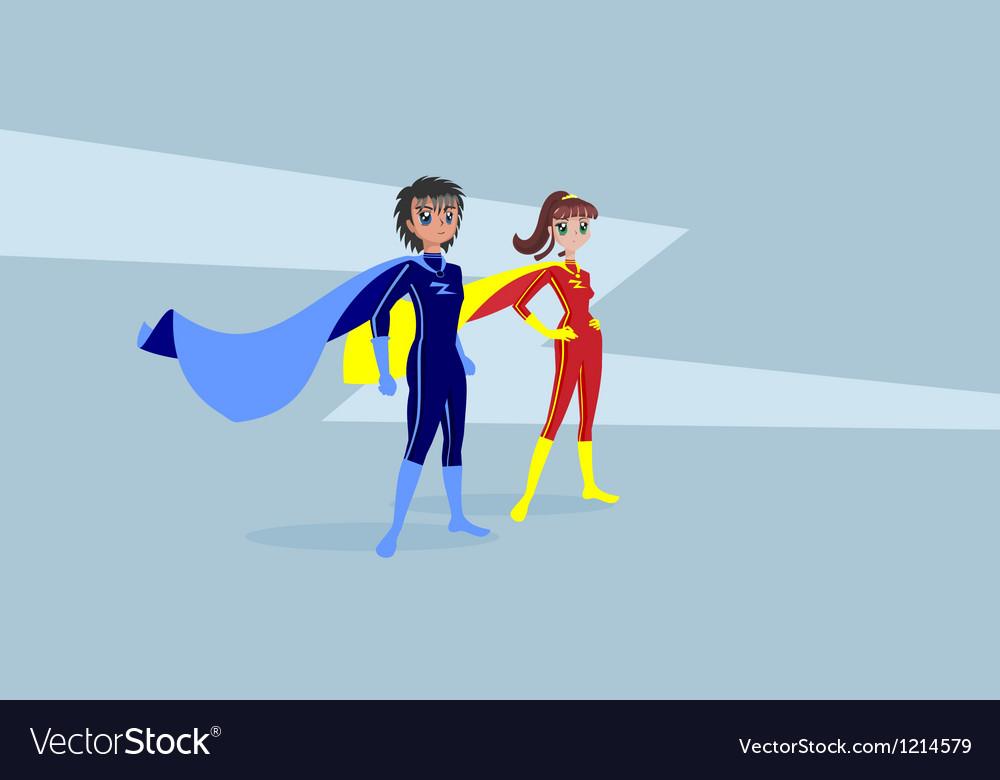 Heroes vector