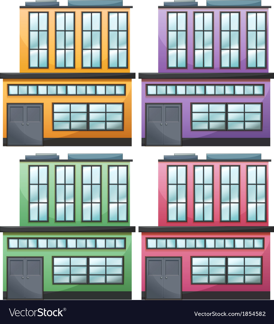 different house designs vector by blueringmedia image