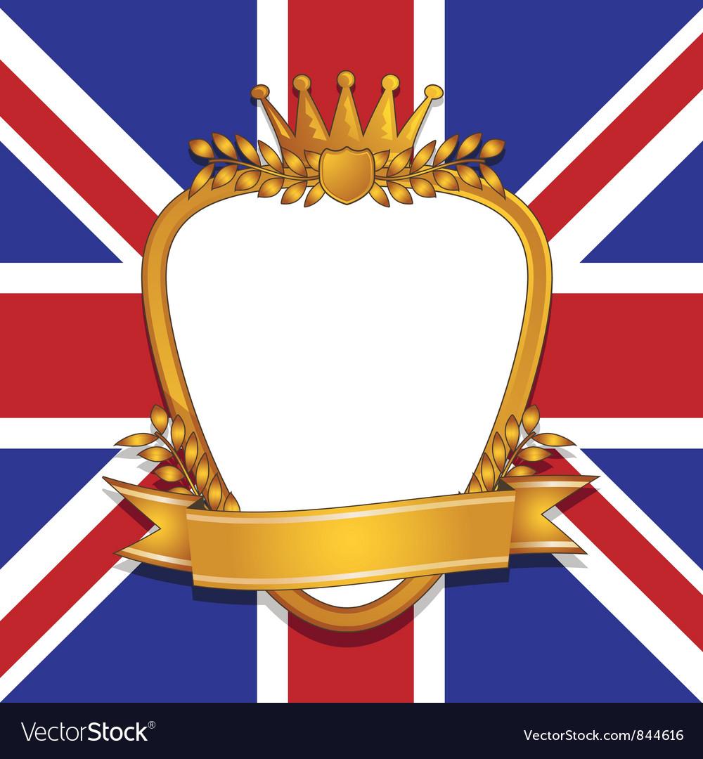 Uk emblem vector