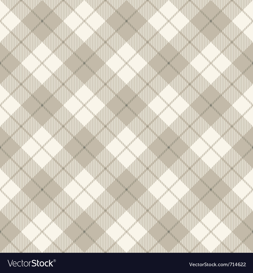 Scottish diagonal plaid vector