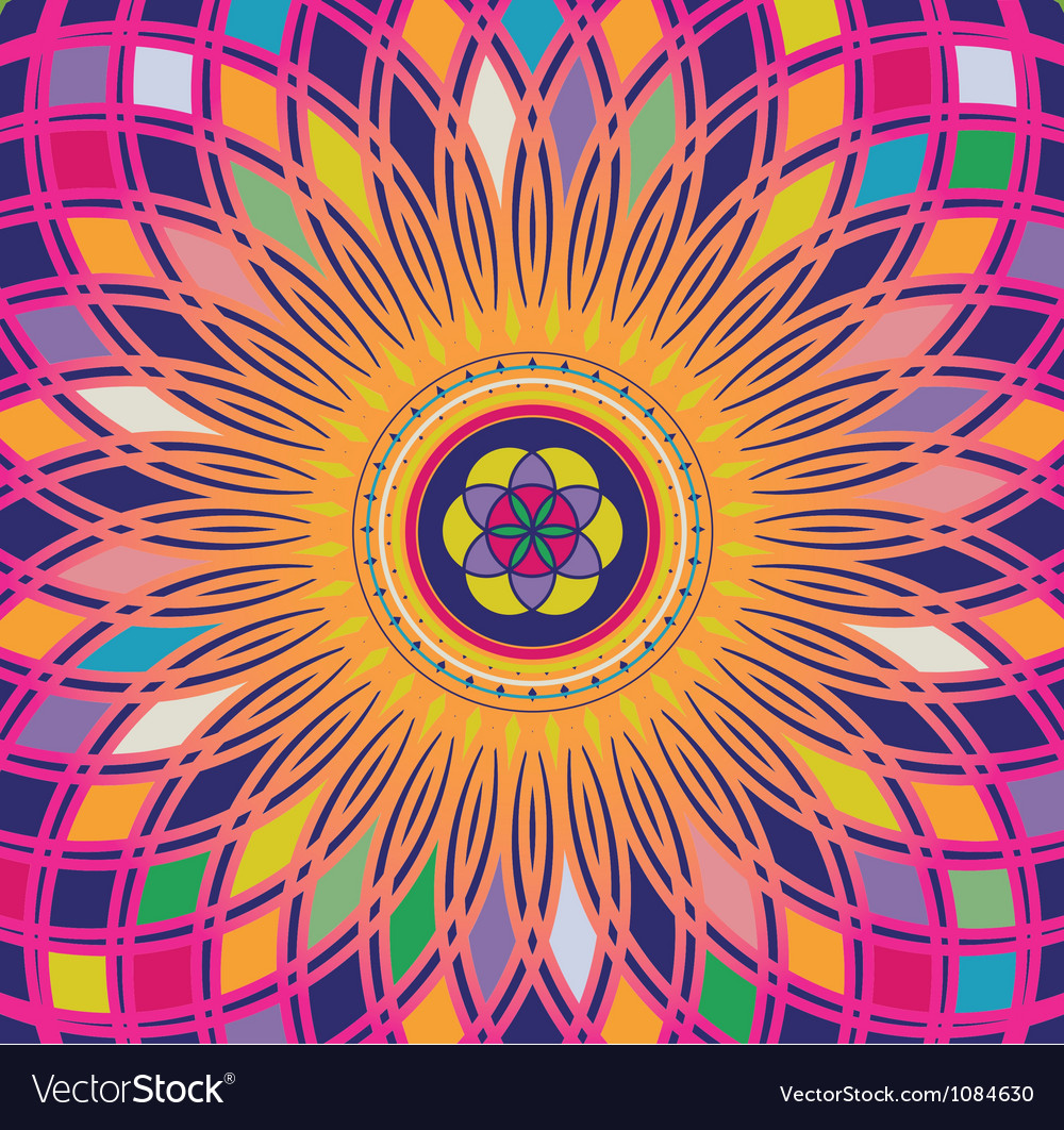 Life seed color luminescence vector