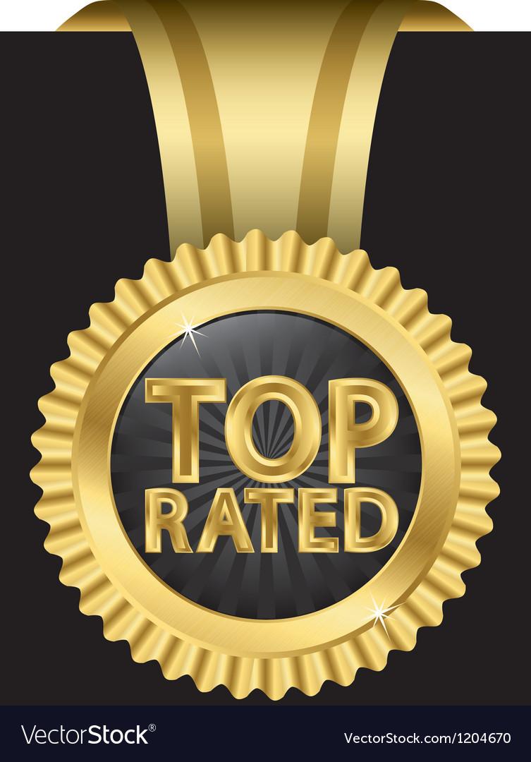 Top rated golden label vector