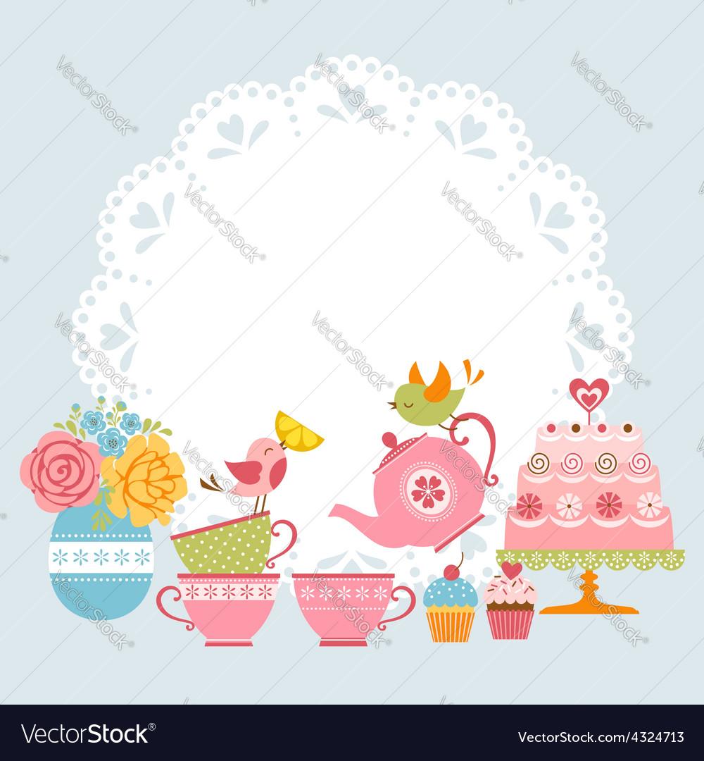 Invitation High Tea was great invitation design