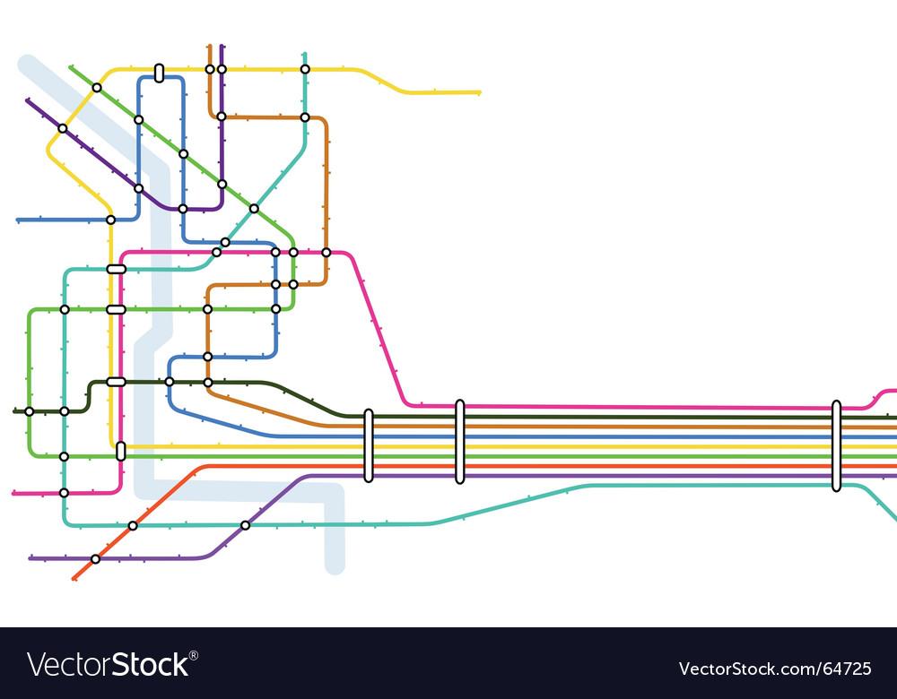 Subway vector Subway Vector