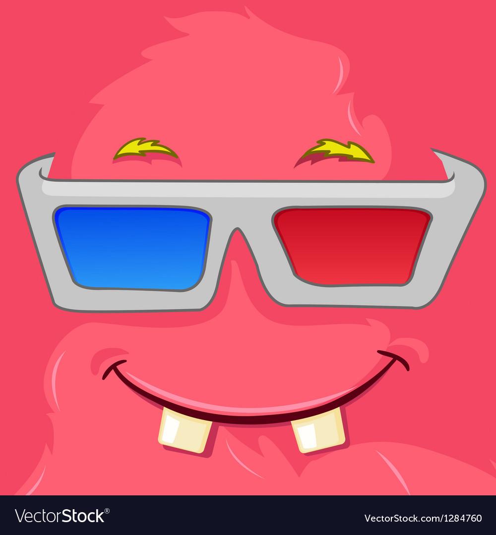 Monster avatar vector