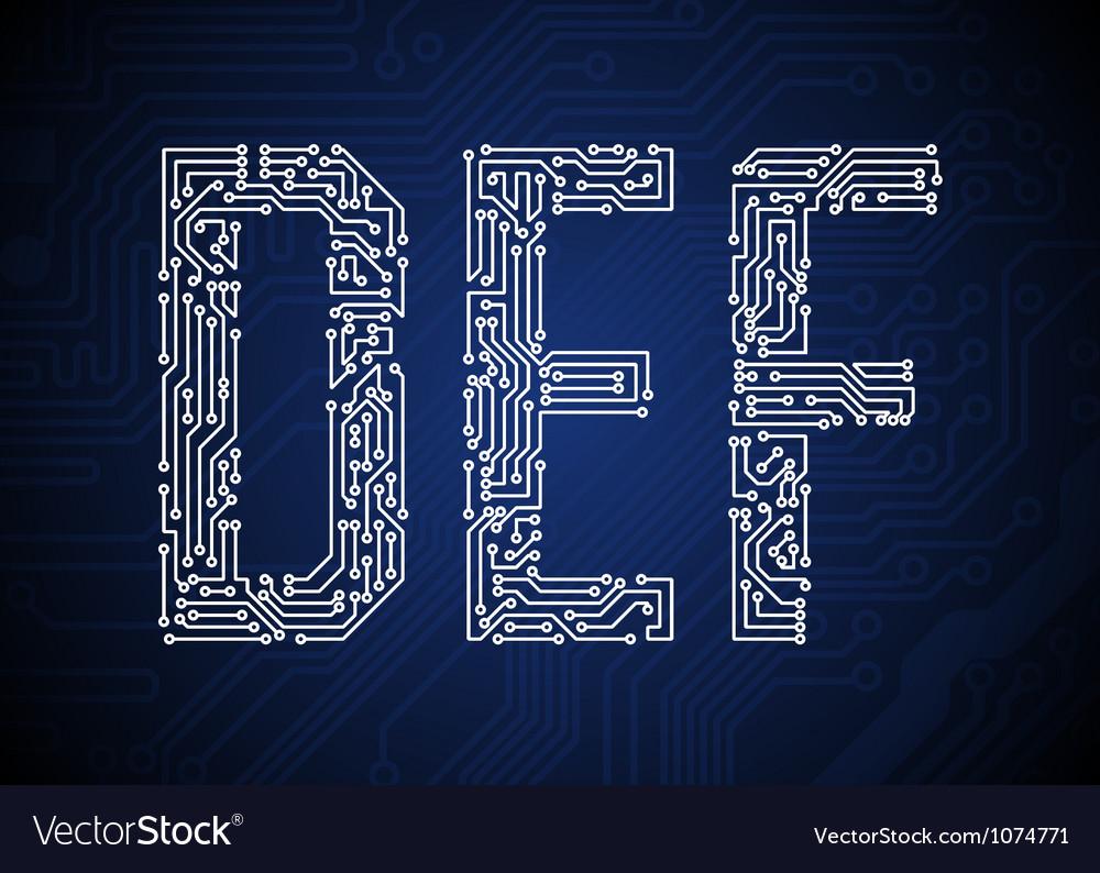Def vector