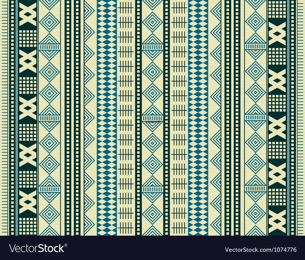 Brown ethnic texture vector