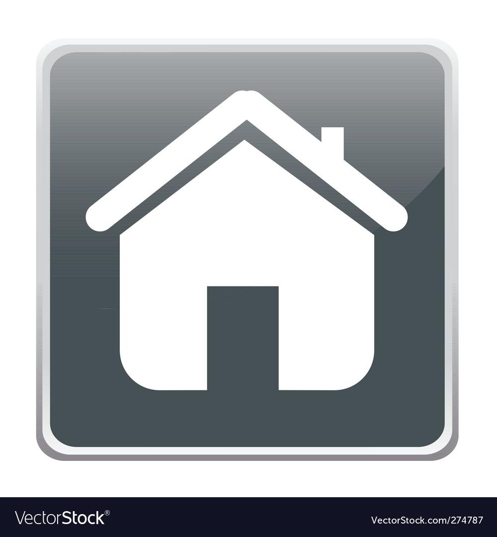 Free home button vector