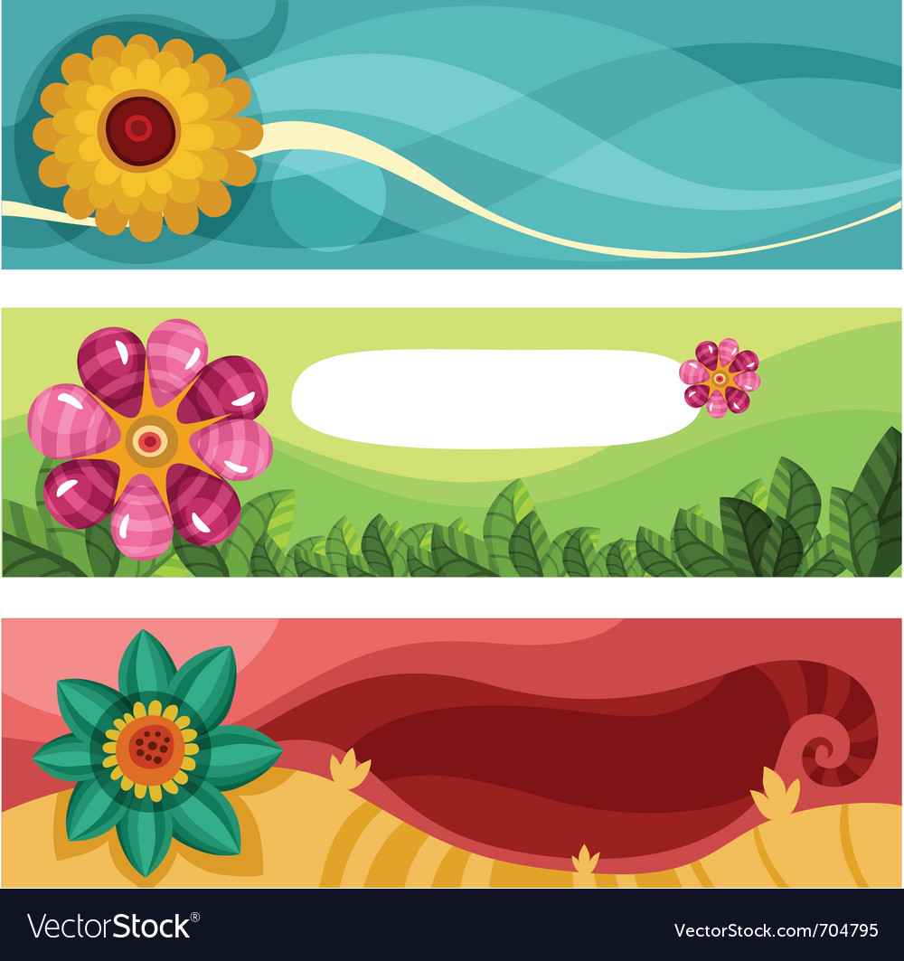 Easter card set vector