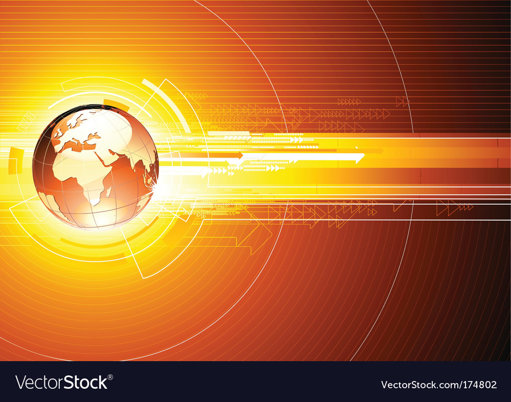 Hi-tech background vector