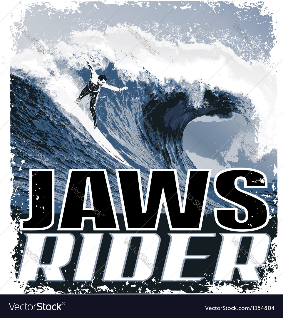 Jaw riders vector