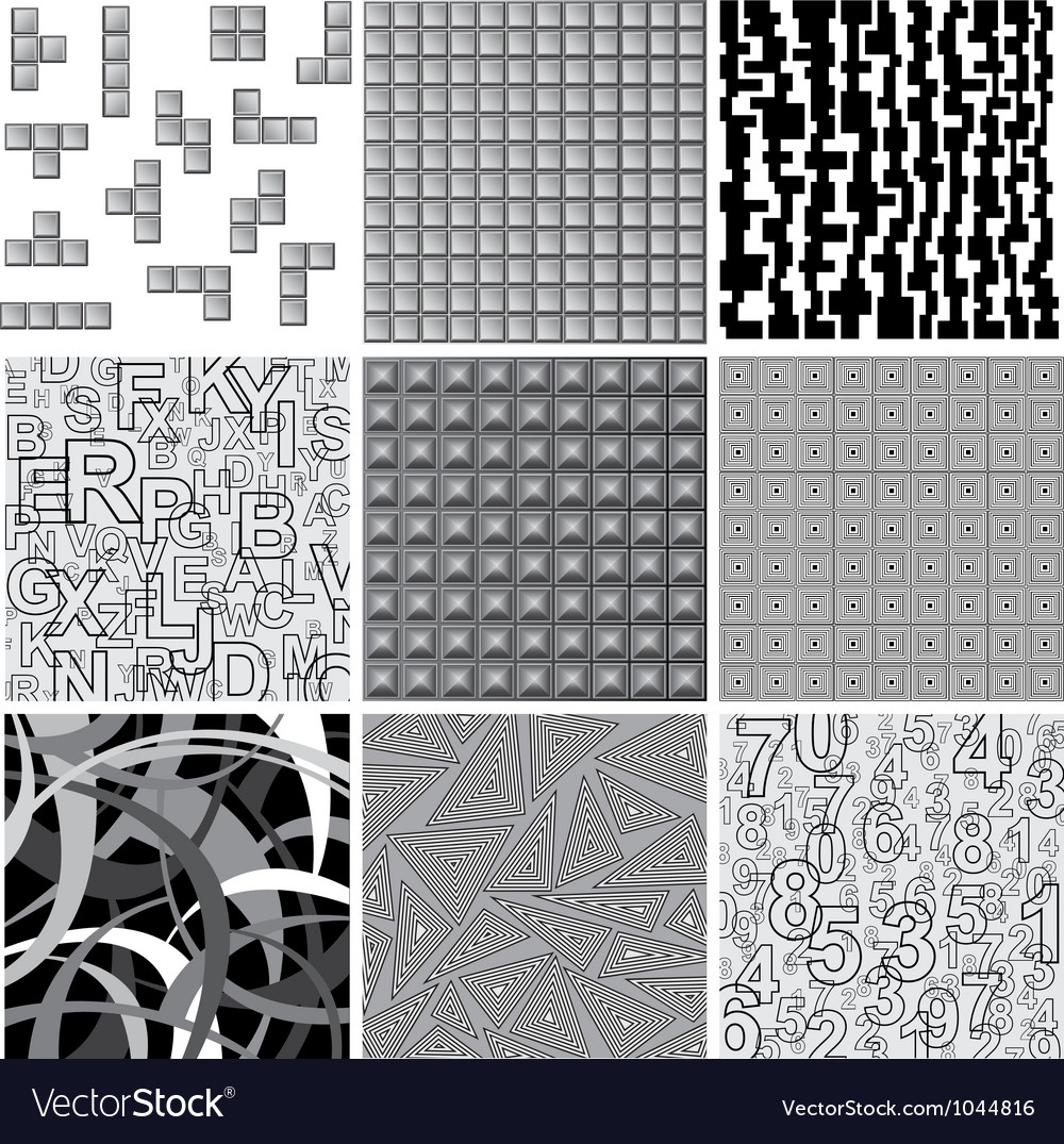 Patterns vector