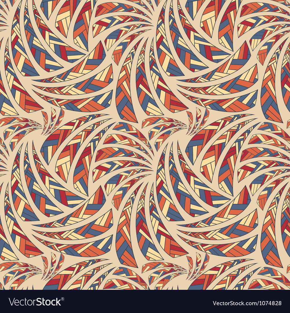 Ethnic seamless pattern background vector