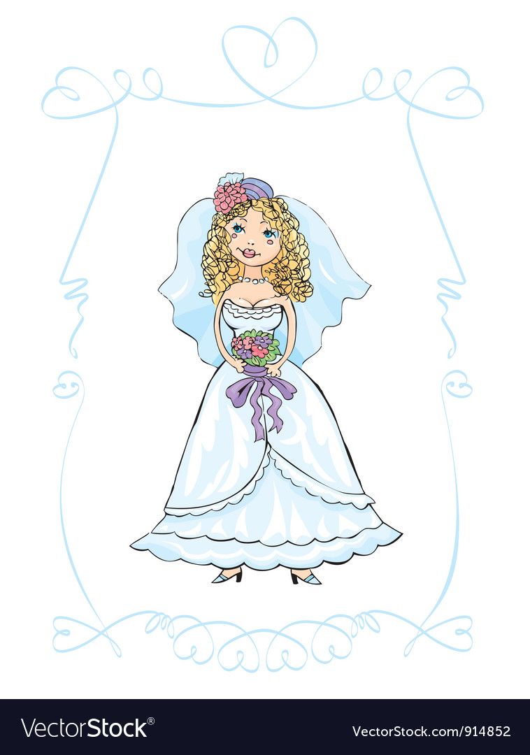 Wedding picture vector