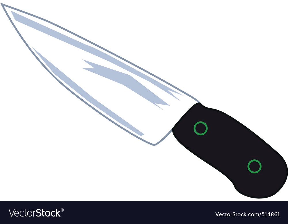 Free knife vector