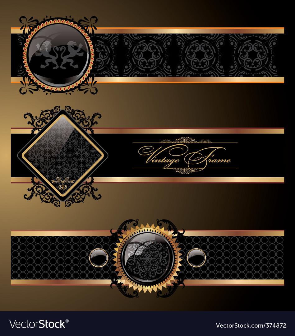Ornate decorative vector