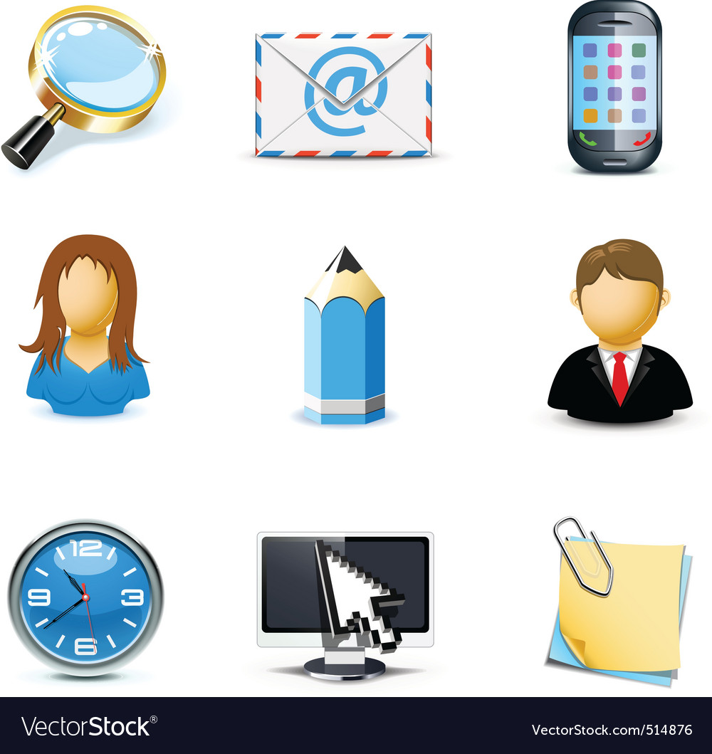 Web icons   bella series 3 vector