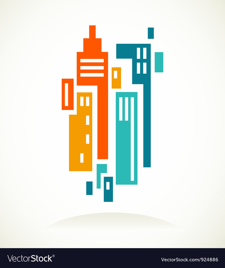 Real estate icon and element vector