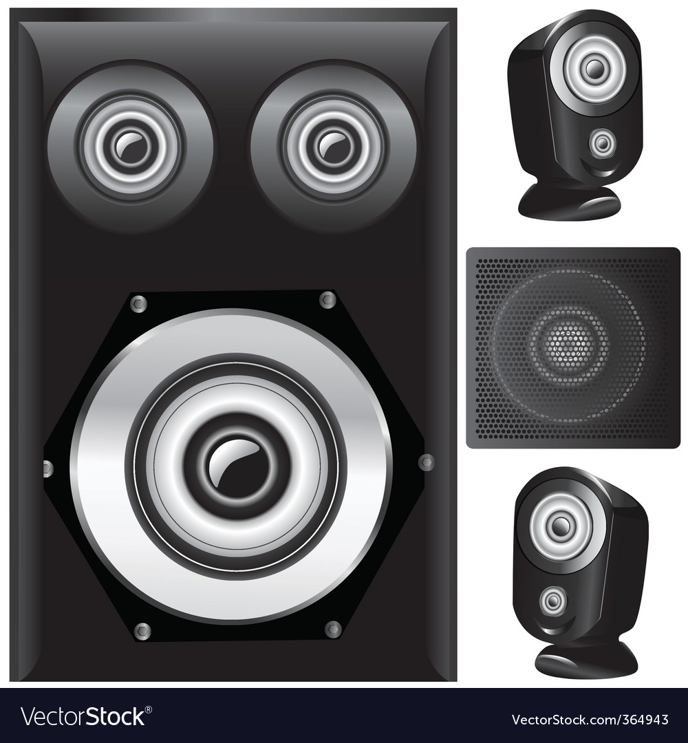 Set of speaker vector
