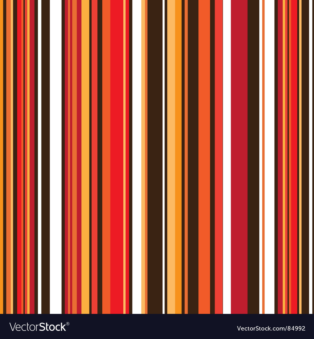 Autumn stripe retro vector