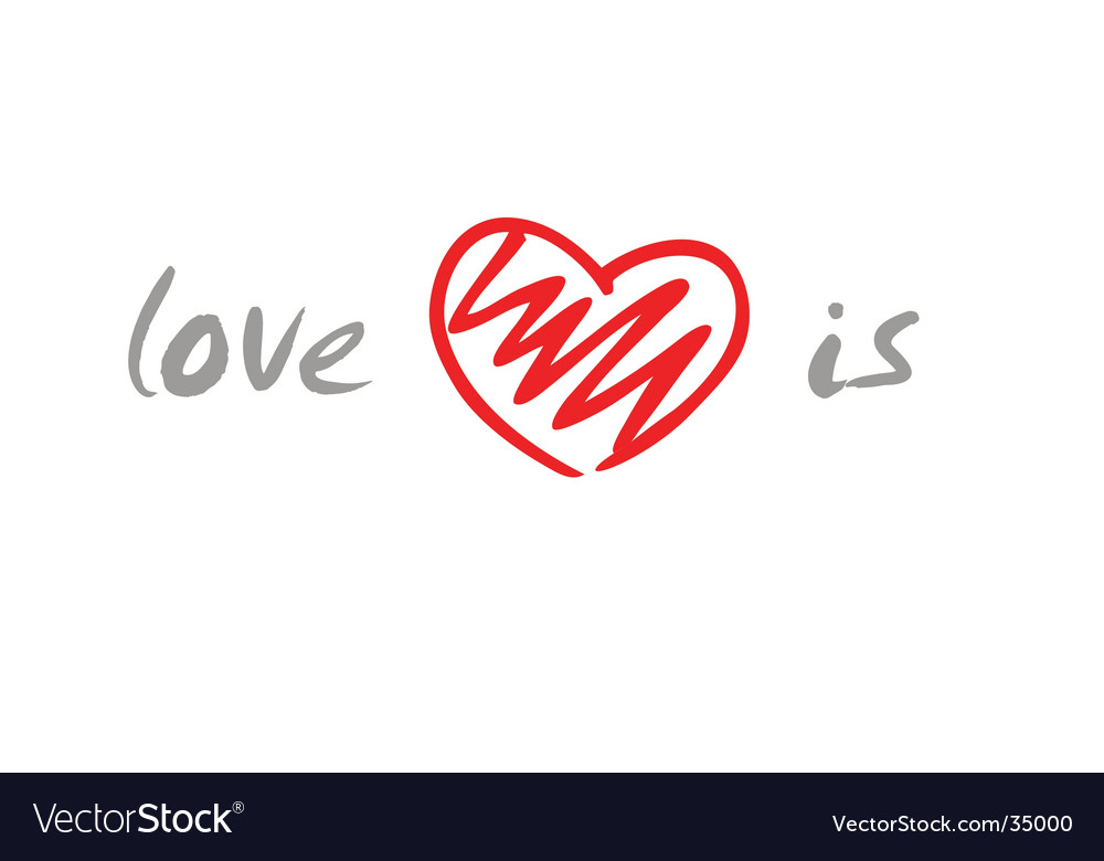 Love is vector