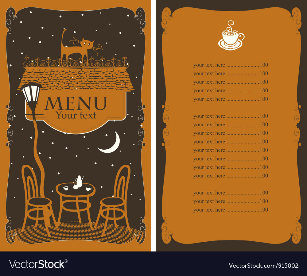 Star menu vector
