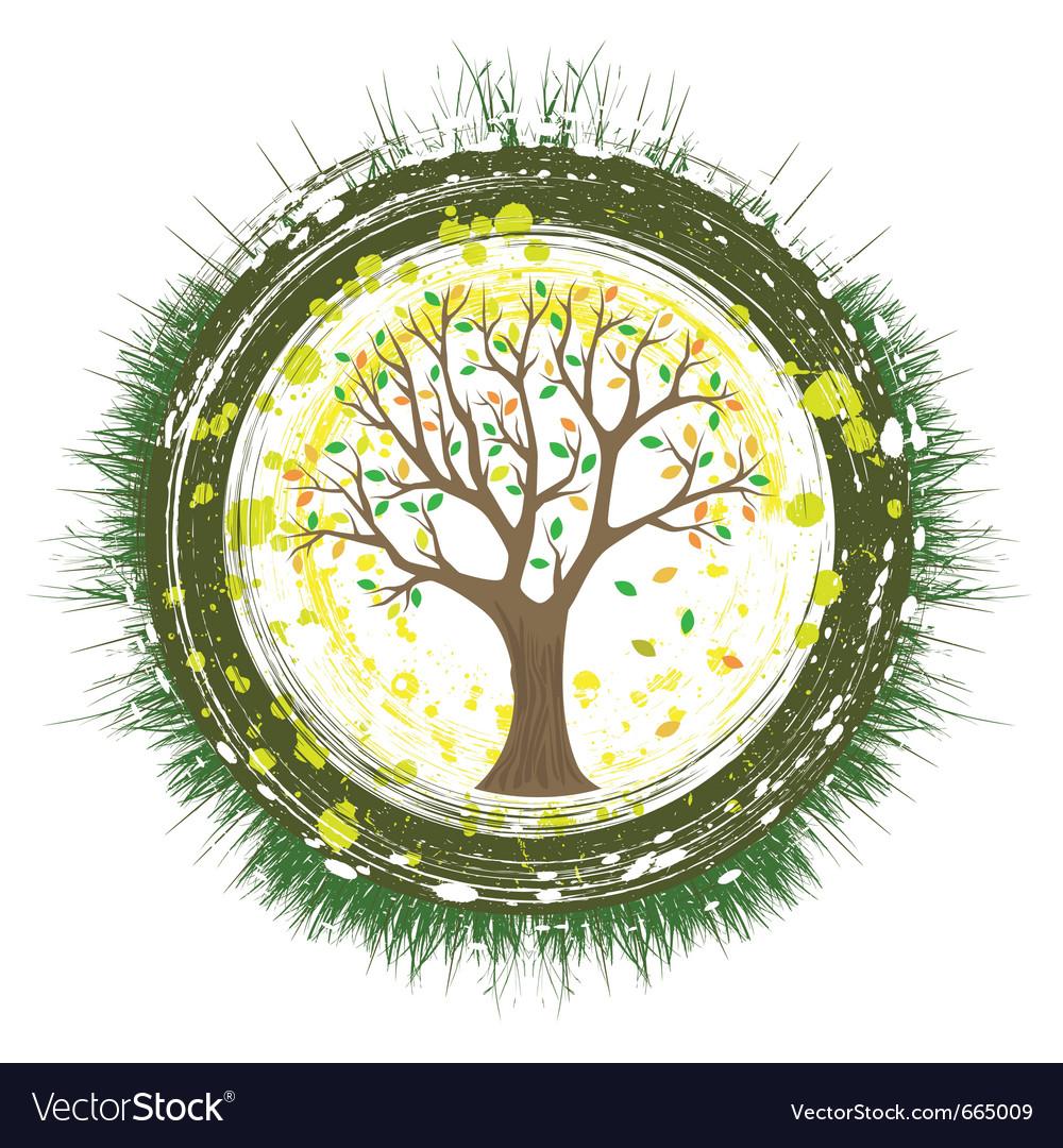 Eco tree vector