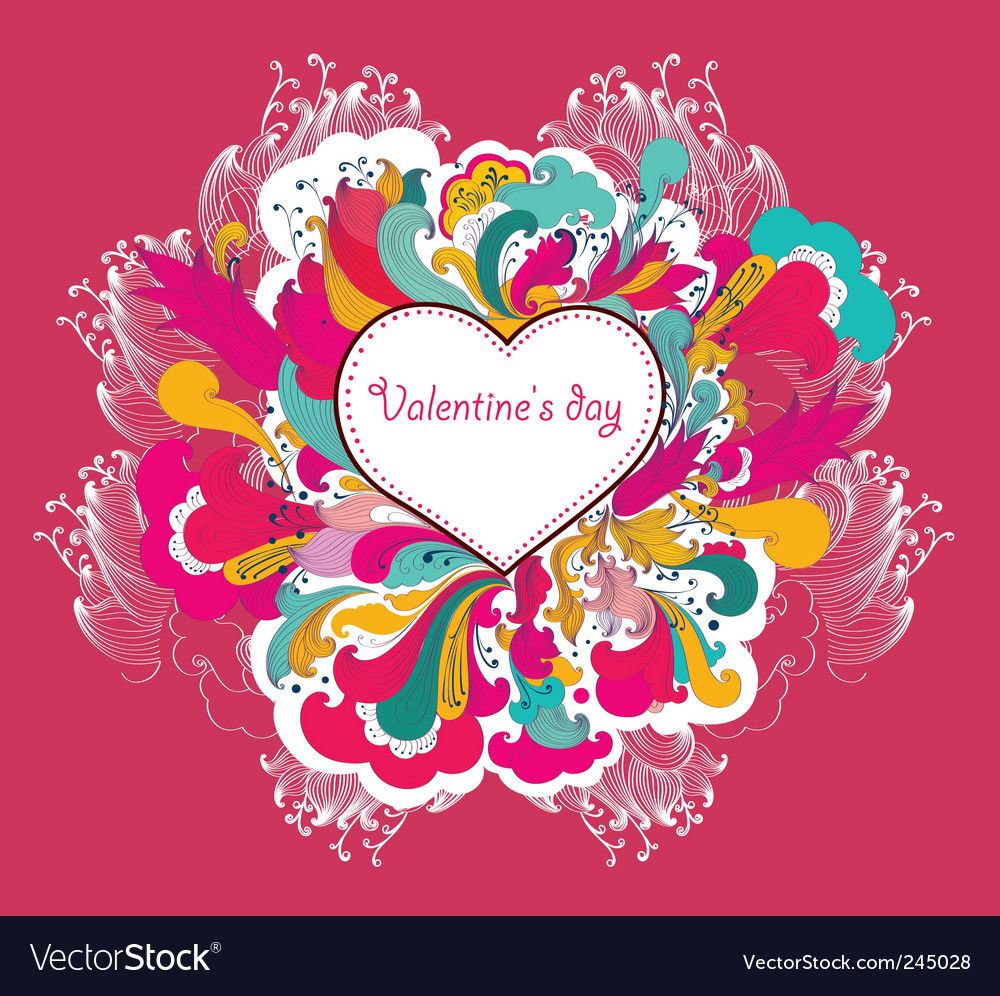 Valentine's day vector