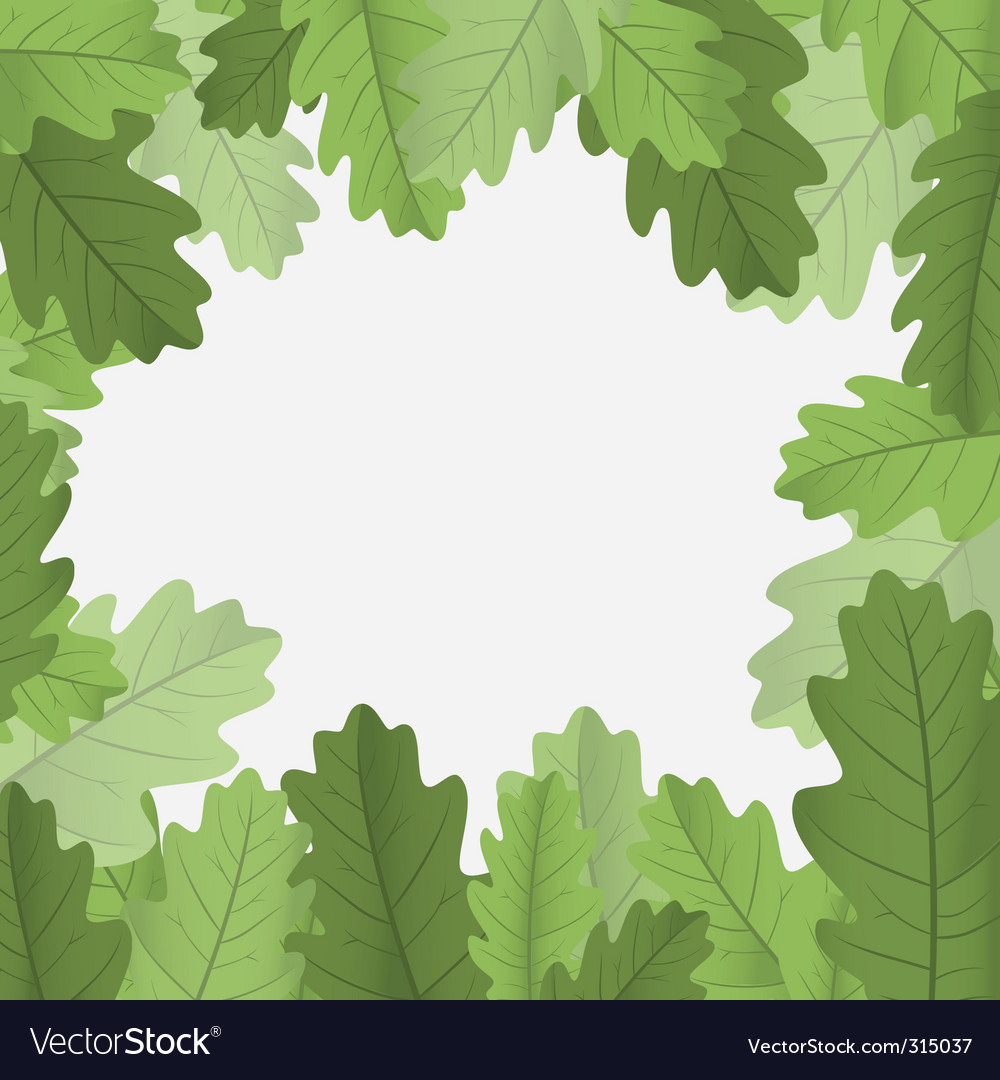 Leaves border vector art - Download Leaves vectors