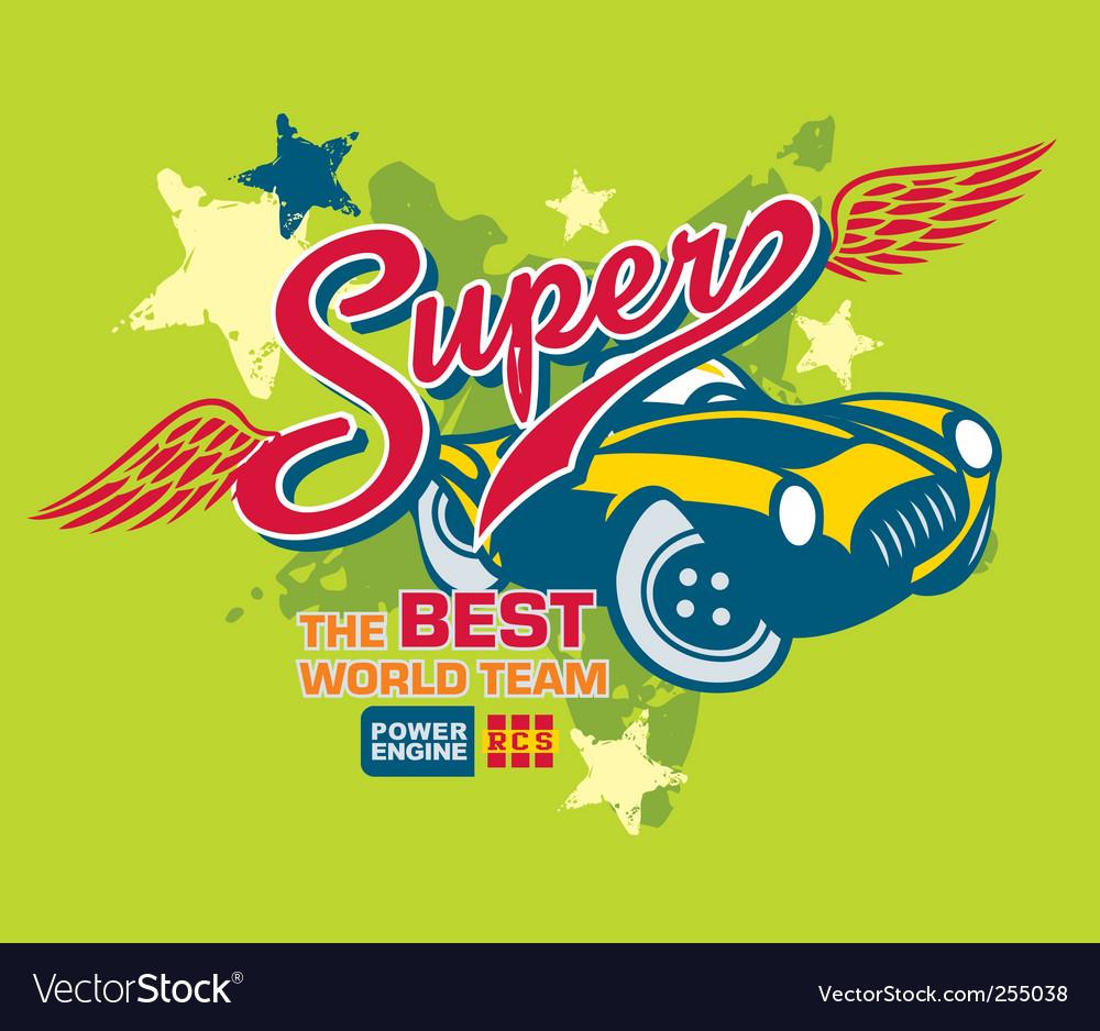 Super vector