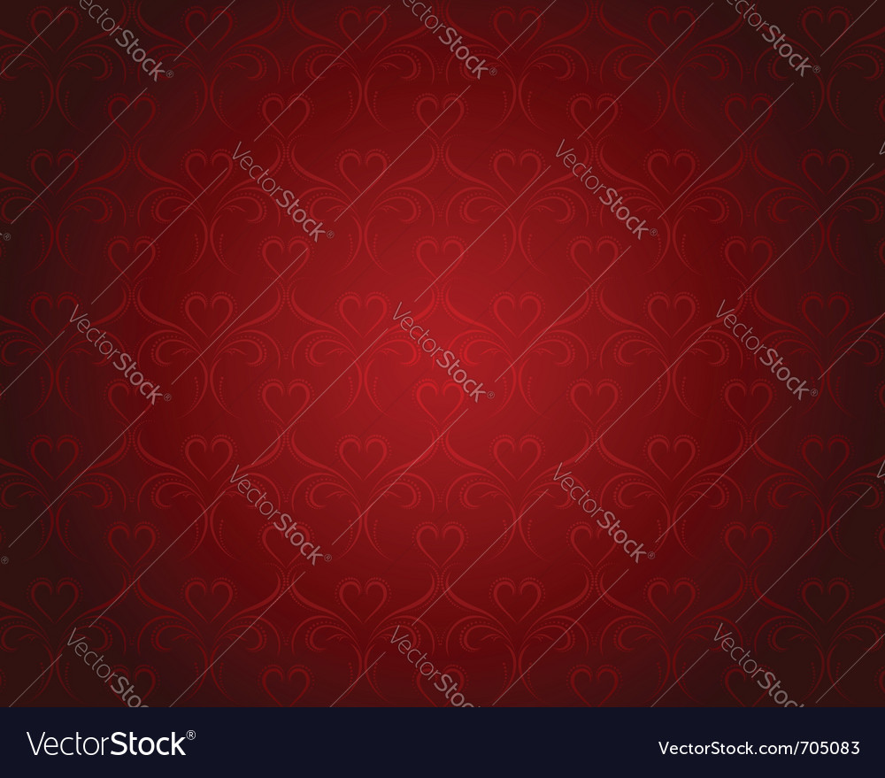 Valentine hearts backgrounds vector